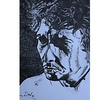 Bob Dylan  (another side) Photographic Print