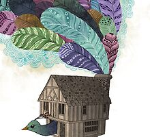 the birdhouse revisited  by lauragraves