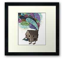 the birdhouse revisited  Framed Print