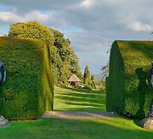 Gardens At Chirk Castle by relayer51