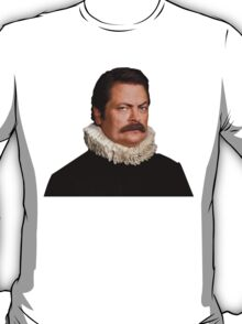 Victorian Ron Swanson - Parks and Rec. T-Shirt