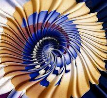 Twirling ripples by Jan Clarke