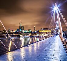 Golden Jubilee Bridge by Vincent Sluiter