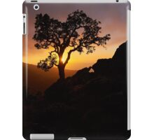 Silhouette at Sunset iPad Case/Skin
