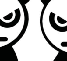 JDM ANGRY PANDAS Sticker