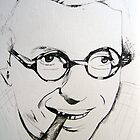Jean-Paul Sartre by Xen Havales
