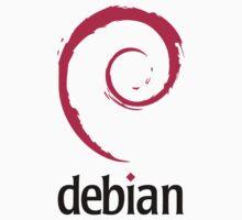 Debian sticker by carrascord