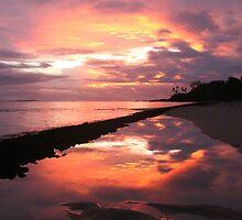 Samoan Sunset by ardwork