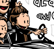 Sam and Dean...and Cas! Sticker