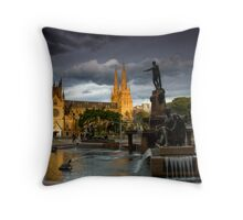 St. Mary Cathedral and The Archibald Throw Pillow