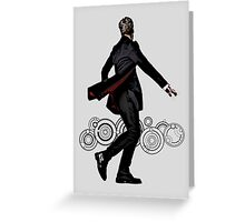 Doctor Who: The Twelfth Doctor Silhouette Greeting Card