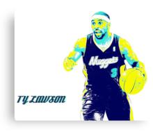 TY LAWSON NEW DESIGN Canvas Print