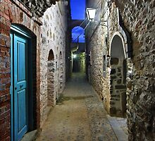 Walking in Mesta village - Chios island by Hercules Milas
