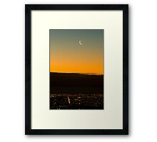 Adelaide by Twighlight Framed Print