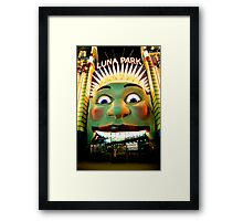 Luna Park Does HDR - Moods of A City #24 - The HDR Series Framed Print