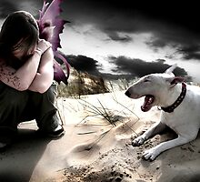 The Fairy and the Dog by Elodie