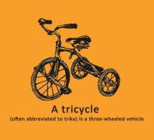 tricycle by Siegeworks .