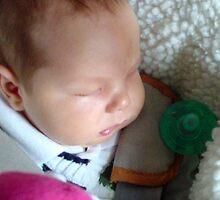 Sleeping Baby by pbischop