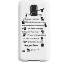 Disney 02 Samsung Galaxy Case/Skin