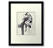 WE CAN LIVE LIKE JACK AND SALLY IF YOU WANT Framed Print