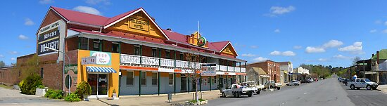 Main Street, Gunning, NSW, Australia by Peter Clements