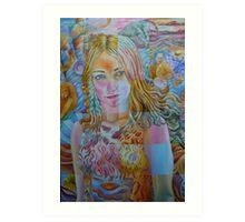 Kate Miller-Heidke Art Print
