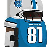 Calvin Megatron Johnson by mykowu