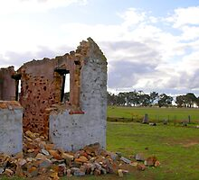 Panoramic of St Mary's Church, Outside Goulburn, NSW, Australia by Peter Clements