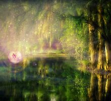 Fairy in Pink bubble in Serenity Forest by lldd11