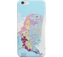 Top US Ancestries by county Map iPhone Case/Skin