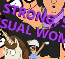 I'M A SMART, STRONG SENSUAL WOMAN Sticker