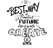 Best way to predict the future quote by seothello