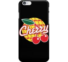 CHERRY with red cherries iPhone Case/Skin