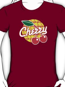 CHERRY with red cherries T-Shirt