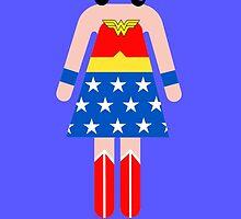Wonder Woman/Heroines by TheWrightMan