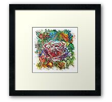 The Atlas Of Dreams - Color Plate 142 Framed Print