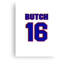 National Hockey player Butch Deadmarsh jersey 16 Canvas Print