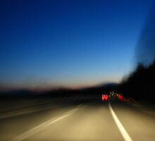 Driving Through The Night by Chris Rollason