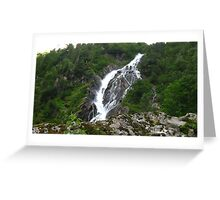 Bodensee Waterfall Greeting Card