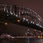 Sydney harbour bridge by Toni McPherson