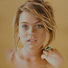 Lindsay Lohan - Colored Pencil by golfiscool