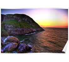Angel Bay sunset Poster