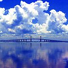 Sunshine Skyway by Harlan Mayor