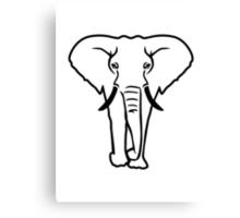 Elephant tusk Canvas Print