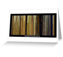 MovieDNA: Moonrise Kingdom [2012] Greeting Card