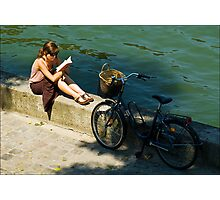 la bicyclette Photographic Print