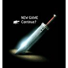 Final fantasy VII New game/Continue? by Geekstuff