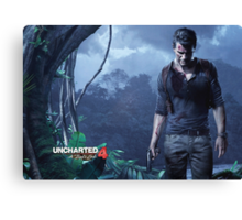 Unchartered 4: A Thief's End Canvas Print