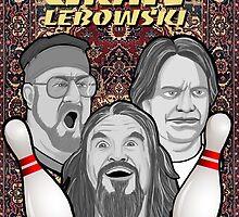 the big lebowski spanish collage by gjnilespop