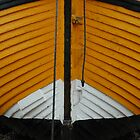 Yellow fishing boat by Tony Hadfield